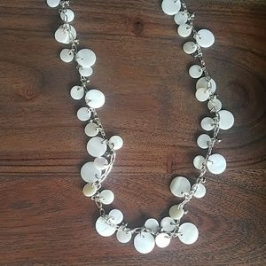 Stella & Dot mother of pearl necklace
